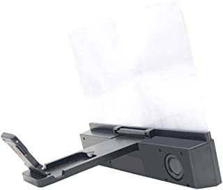 MIS1950s HD Projection 12 Inch Mobile Phone Screen Magnifier Bracket Enlarge with Bluetooth Speaker