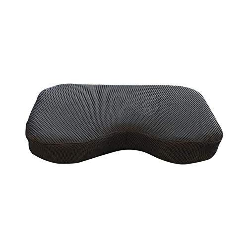 Cojín de asiento para máquina de remo, resistente a la máquina de remo, se adapta perfectamente a Concept-2, cojín de espuma viscoelástica para deportes acuáticos reclinables, lavable
