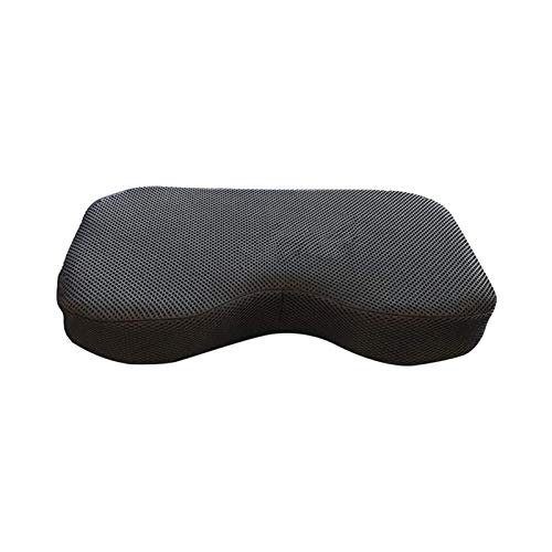Cojín de asiento de fila con correas, almohadilla de asiento para máquina de remo para deportes acuáticos reclinados, Concept 2 Seat Pad se ajusta perfectamente a la máquina de remo Concept 2