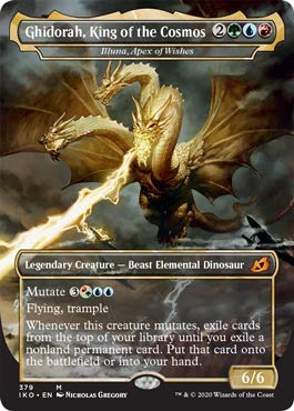 Magic: The Gathering - Ghidorah, King of The Cosmos - Illuna, Apex of Wishes - Ikoria: Lair of Behemoths