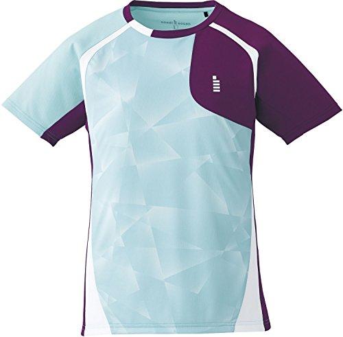 ゴーセン(GOSEN) レディース バドミントン ソフトテニス ゲームシャツ T1705 ミント(40) XL