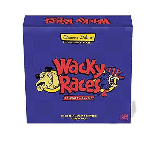 Asmodee - Wacky Races: Il Gioco da Tavolo, Versione Deluxe, Edizione in Italiano, 8722