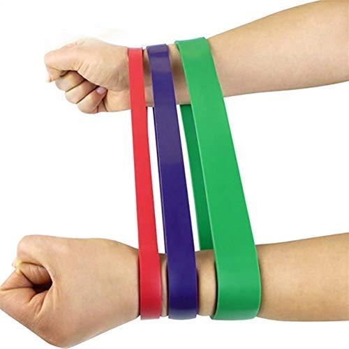 ZHHO Bandes De Résistance De Remise en Forme De Boucle Set 3 Niveau Épais Athlétique Lourd Élastiques Power Training Entraînement Exercices Équipement L'entraînement en Force (Color : 3 Level)