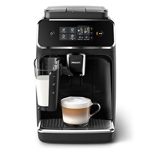Philips EP2231/40 Series 2200 Volautomatische Espressomachines, Zwart/Zilver