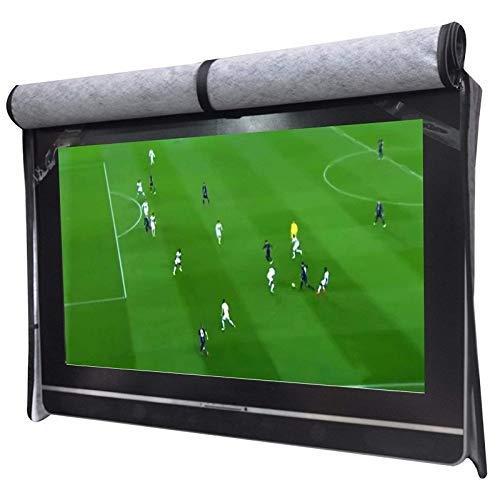 W-L Protettori Schermo per TV Pratica all aperto TV Cover Set Scratch Resistant Compatibile con Lo Standard Monti e Stand 30  a 58  Schermo LED (Color : 50 52in)