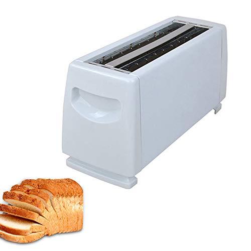 Sandwichera, Tostapane elettrico per la casa, YXY-Tech 4 slot automatico in acciaio automatico 1150 W macchina per il pane macchina da cucina in acciaio inossidabile multifunzione colazione macchina
