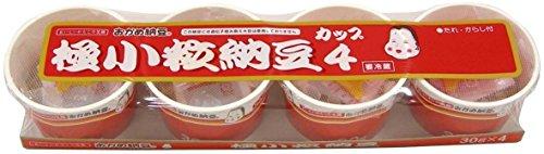 [冷蔵] おかめ納豆 極小粒カップ 4個