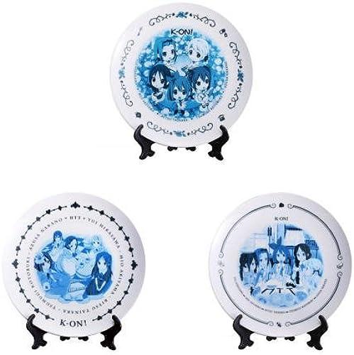 K-lottery premium Beste  Country de Tea Time  G Art Award plate of wonder all three set (japan import)