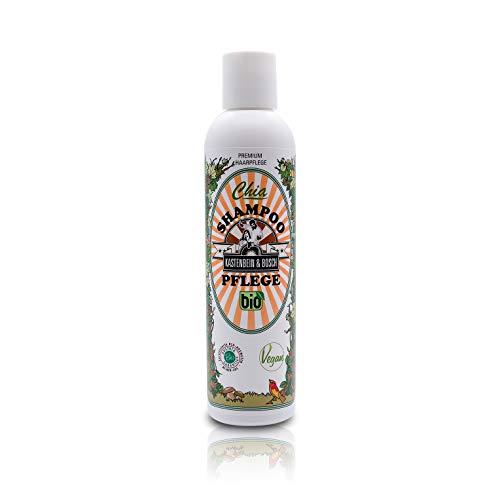 Bio Chia Shampoing Soin – végétalien, glycérine & sans lactose avec 18 Ingrédients Naturels comme Huile d'Argan & chiaext rakt – Soins des cheveux 200 ml de boîte à jambes & Bosch
