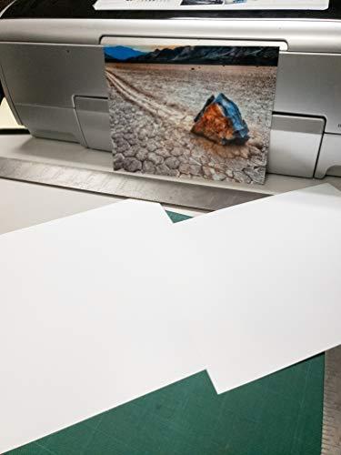 8.5' X 11' Cold Press Watercolor Fine Art Inkjet Paper - 50 Sheets