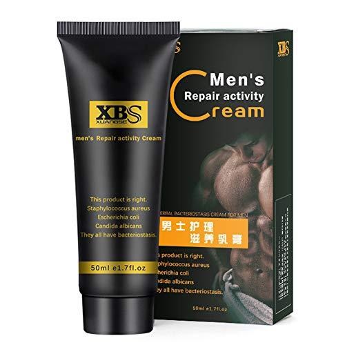 BEESCLOVER Crema da massaggio per l'ingrandimento del pene da 50 ml per aumentare l'eiaculazione ritardata della dimensione del pene