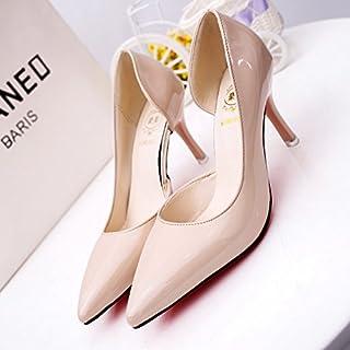c14ee58a901399 Xue Qiqi Escarpins Chaussures à Talons Hauts avec des Chaussures vides  Latérales