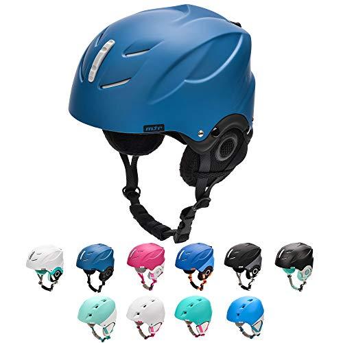 meteor Casco de Esquí y Snowboard para Niños Niñas Helmet para Jóvenes y Adultos