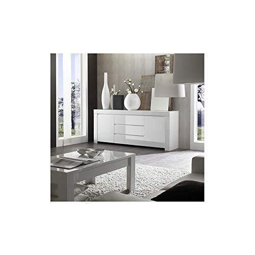 Azura Home Design - Aparador Lazarro con 2 puertas y 3 cajones,...