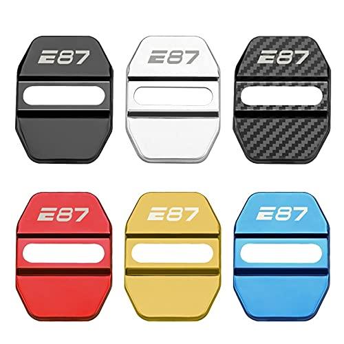 DIANXM Cubiertas de Cerradura de Puerta Accesorios Caja de Estilo de automóvil para BMW E70 E87 E90 E91 E92 E93 Pegatinas de protección automática (Color Name : Style 2 for E87, Size : Gold)