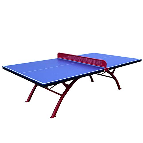 SHEHUIREN Tischtennis Tischtennisbälle Und Paddel Net Speicherplatzsparende Schnellmontage Für Kinder Und Erwachsene 155X140cm
