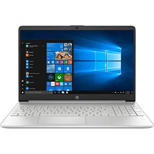 HP 15S-FQ0017NA Silver Full HD Laptop - Intel Pentium Gold 5405U, 8GB DDR4, 256GB Solid State Drive, Wireless 11ac & Bluetooth 4.2, Windows 10 Home - UK Keyboard Layout (Renewed)