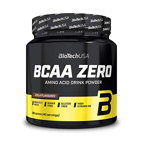 BioTech USA IAF00089180 BCAA Flash Zero, Cola -360 g