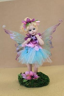 """Jmisa 9"""" Porcelain Fairy Doll"""