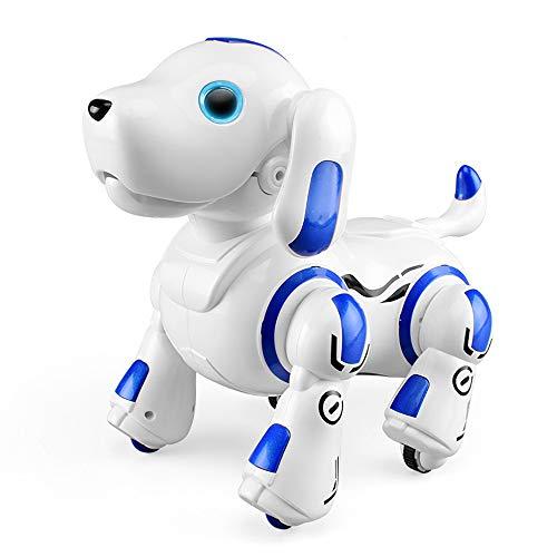 ロボットおもちゃ犬電子ペットロボットペット最新版ロボット犬子供のおもちゃ男の子女の子おもちゃ誕生日子供の日クリスマスプレゼント「日本語の説明書付き」