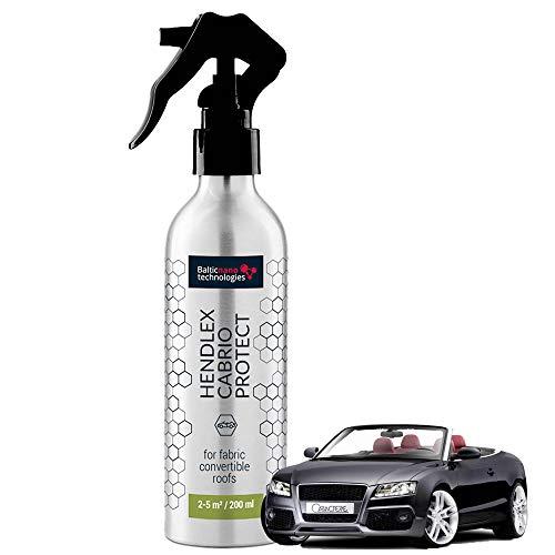 Hendlex Nano Spray Impermeabilizzante Capote Auto - Proteggere Idrorepellente Repellente all' Acqua (200 ml)