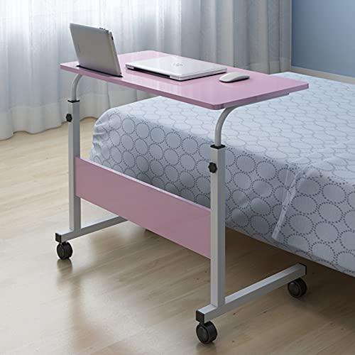 Unbne Bedroom Laptop Desk Mobile Side Desk Adjustable Work Stand Bed Sofa Desk Garden Portable Home Office Side Table For Bed Sofa 31.49 * 15.7 Inch
