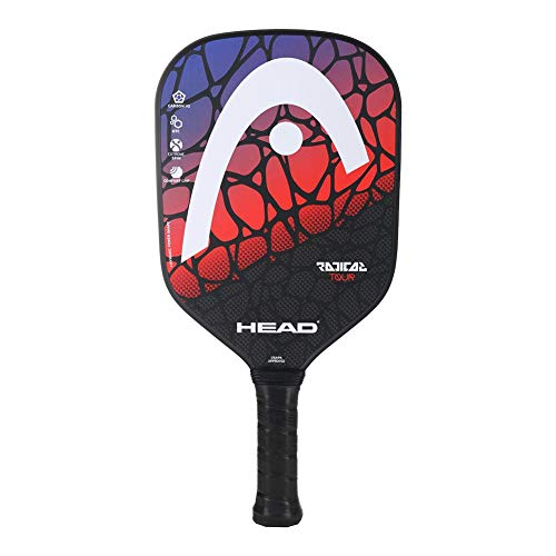 HEAD Graphite Pickleball Paddle - Radical Tour Lightweight Paddle w/Honeycomb Polymer Core & Comfort Grip