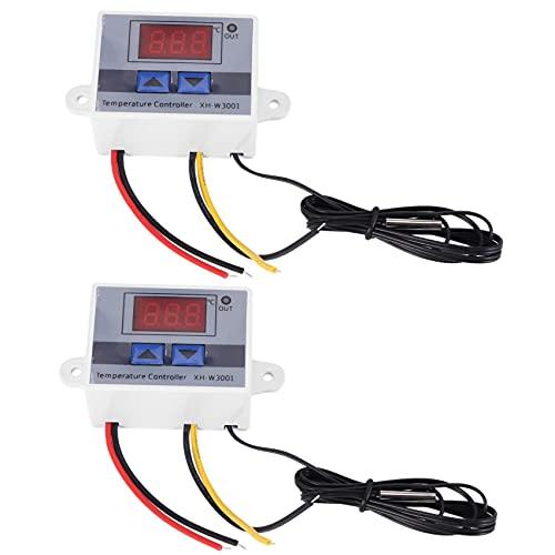 Binogram 2X 220V Digital LED Controlador de Temperatura 10A...
