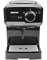 Geepas 15 Bar Power Cappuccino Maker, 1.25 L
