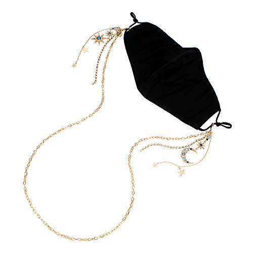 Betsey Johnson Celestial Mask Chain