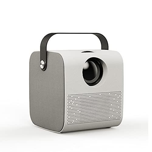 YGXS Mini-Projektor, 1280 * 720P 3500 Lumen HiFi Bluetooth-Lautsprecher LED-Projekt Für Full HD 1080P 3D-Beamer Für Kinder Studieren