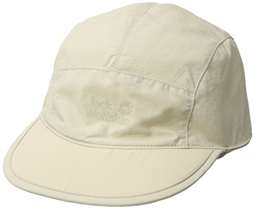 Jack Wolfskin Unisex Supplex Road Trip Casquettes Kappe, (Light Sand), (Herstellergröße: One Size 56-61CM)