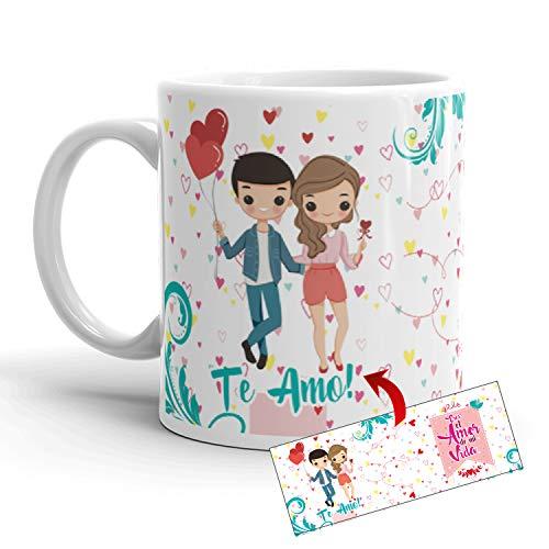 Kembilove Taza de café para Pareja de Enamorados - Taza Te lo Dije Eres el Amor de mi Vida Regalo Original para Novios y Novias San Valentín - Taza de Desayuno para Regalar Enamorados, Aniversarios