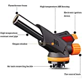 Cooking Butane Gas Torch Lighter Kitchen BBQ Rotating Spray Fire Lgnition Tool Culinary