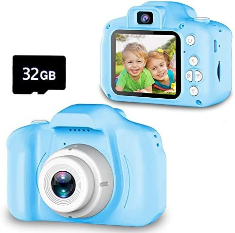 Seckton Upgrade Kids Selfie Camera Christmas Birthday Gifts for Boys Age 3 9 HD Digital Video product image