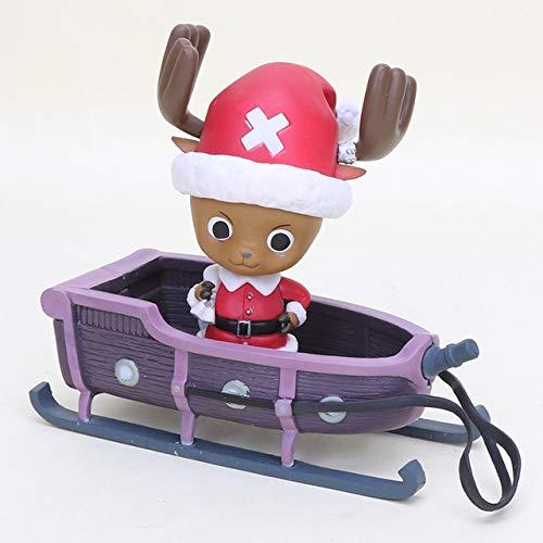 Anime Dragon ball ZMaster Roshi Kame Sennin Kerstman Action Figure One Piece Nami Chopper Christmas Ver.Figure Xmas Toys, chopper bag