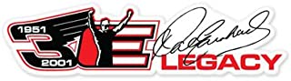 Dale Earnhardt Legacy NASCAR vynil car sticker 6