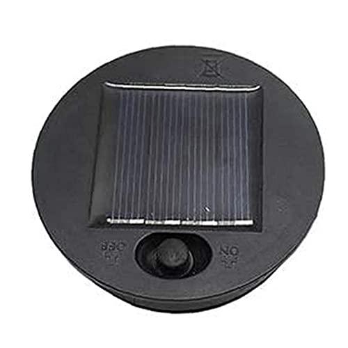 Zonne-tuinverlichting Zonne-verlichting Vervanging Top Zonnepaneel Lamp Batterij Doos Led Lantaarn Lichten Vervanging voor Outdoor 8 Cm Diameter