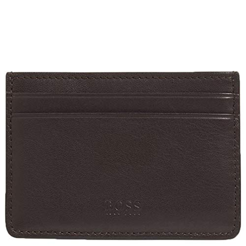 Hugo Boss Majestic S_Money c L, Clip de Billetes para Hombre, Dark Brown201, ONESI