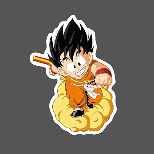 BLOUR 5 Unids/Lote Goku Graffiti Sticker Bomb Impermeable DIY Skateboard Equipaje Laptop Maleta Botella de Agua Guitarra Dragonball Decal Pack