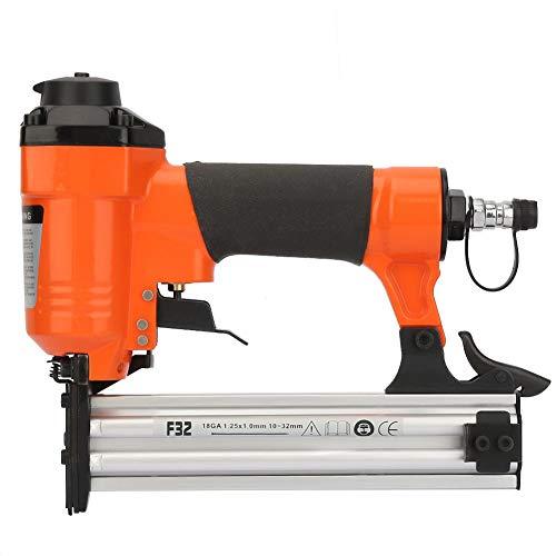 Pneumatische Nagler F32 Pneumatische Nagelpistole Gerade Nagel Air Powered Nagler Hefter Tacker 18GA 1,25 * 1,0 mm Gerade Nagel