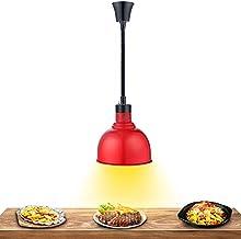 HRTX Lampe Chauffante pour Aliments, Lampe Chauffante pour Aliments Suspendue Réglable, Chauffe-Pizza Rétractable pour Res...