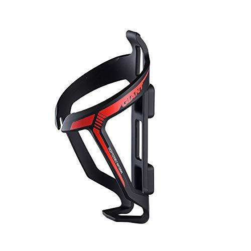 GiANT Proway Polyamide Fiber Excellent Flexibel, geschmeidig, langlebig und leicht Radfahren Flaschenhalter - (Schwarz-Neon-Rot, Neon-Blau, Neon-Gelb, Neon-Orange) (Schwarz- Neonrot)