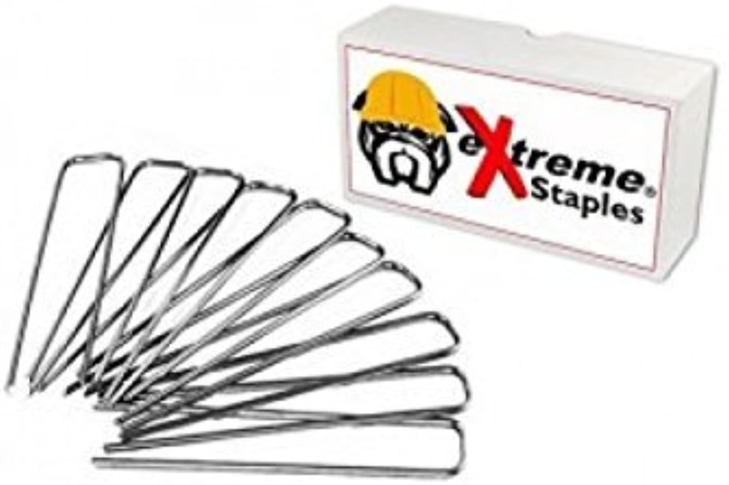 Extreme Dog Fence Pet Fence Staples for Electric Dog Fences and Sod or Garden  Multiple Quantities Available