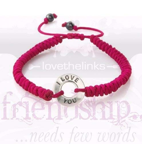 Lovethelinks Sentimental Friendship Bracelet with Sterling Silver