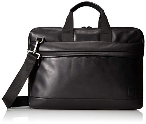 Knomo Barbican Roscoe Briefcase - 15' laptop case, Black