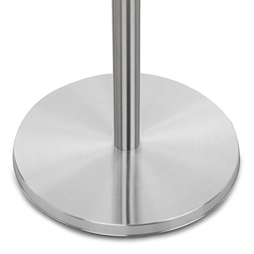 blumfeldt Heat Guard • Heizstrahler • Terrassen-Heizpilz • Standheizer • IP44 • 3 Stufen: 900, 1200 und 2100 W • höhenverstellbar • witterungsbeständig • Aluminium-Standfuß • 1.8 m Netzkabel • silber - 4