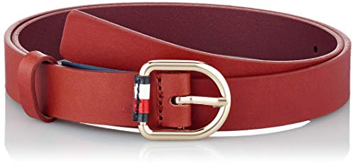 Tommy Hilfiger Corporate Belt 2.5 Ceinture, Rouge (Barbados Cherry 0kp), Large (Taille fabricant: 95) Femme