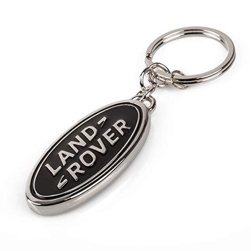 Llavero con logotipo metálico de Land Rover (llavero)