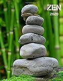 ZEN 2020: Yoga Meditation Spa Gratitude Prayer Scripture Growth Happiness Gifts - Journal Notebook with Calendar - Calm Good Aura Product- Green Notes ... for Men Women Office Coworkers Destress Gifts